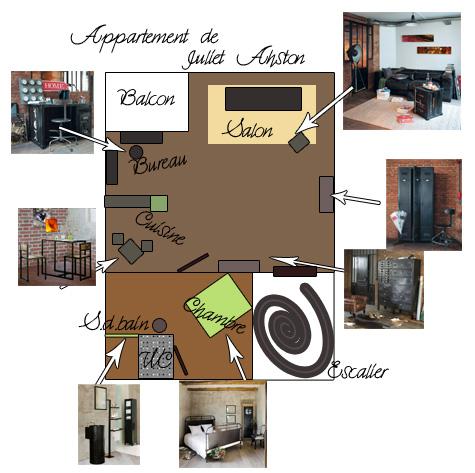 Appartement de Juliet Appart17
