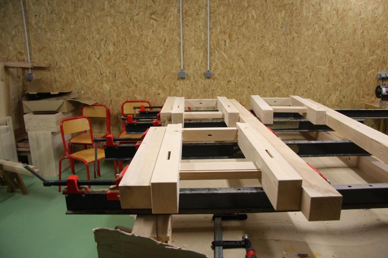 Stage menuiserie : construction d'un établi 13-ass10