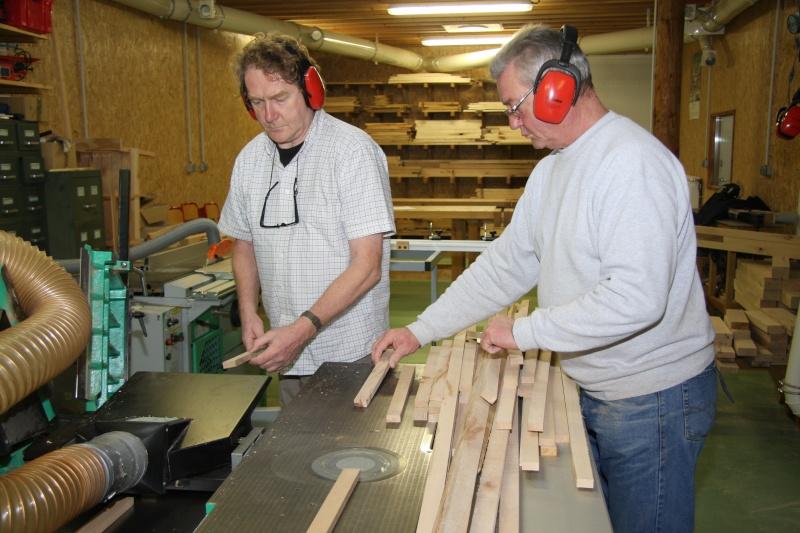 Stage menuiserie : construction d'un établi 15-rab10