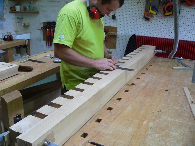 Stage menuiserie : construction d'un établi 5-trac10