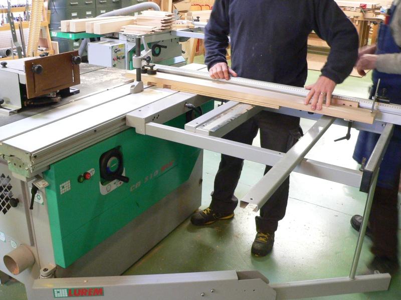 Stage menuiserie : construction d'un établi 8-teno10