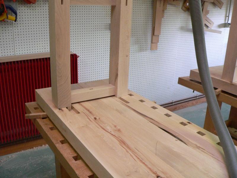 Stage menuiserie : construction d'un établi P1010622