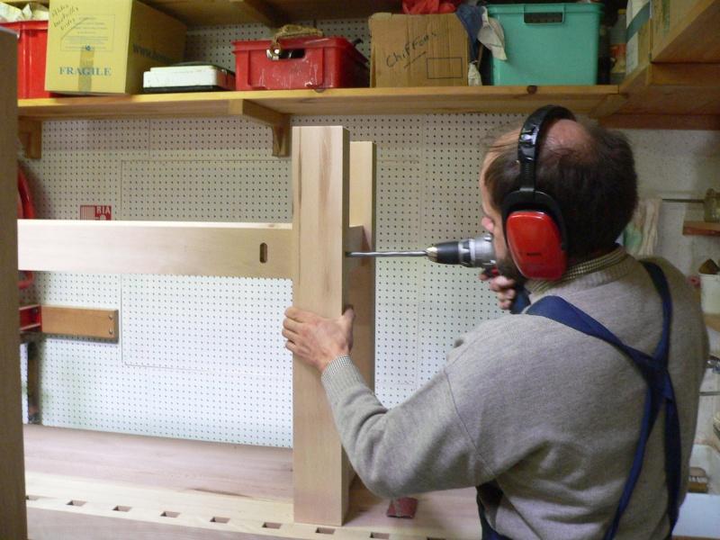Stage menuiserie : construction d'un établi P1010624