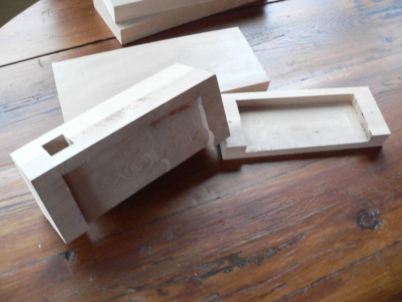 Stage menuiserie : construction d'un établi P1010628