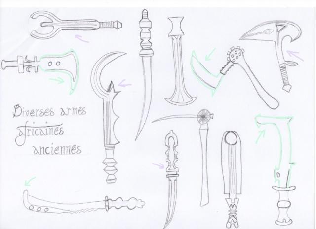 diverses armes Armesi10