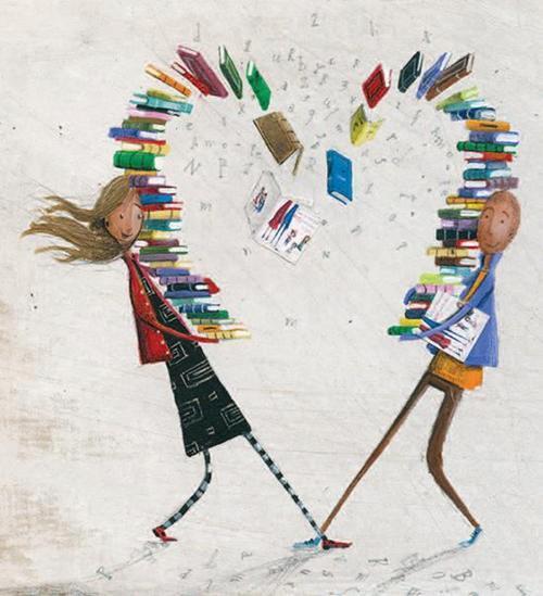 Avatars I Love Books Coeur-11