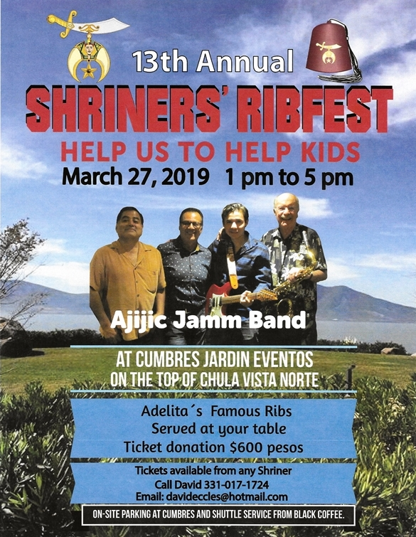 Save the Date - Shriners RibFest - Wednesday., March 27th. Ribfes11