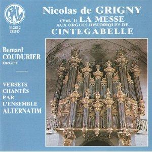 L'Orgue français sous l'Ancien Régime : discographie Grigny11