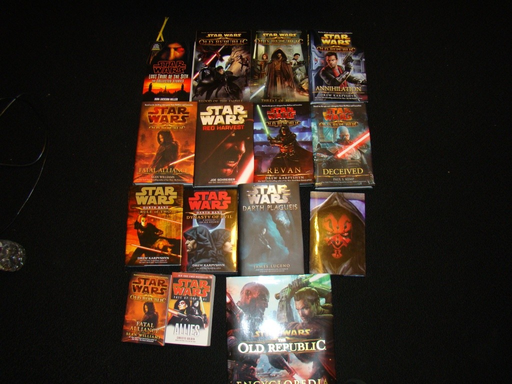 My Star Wars Books Dsc01614