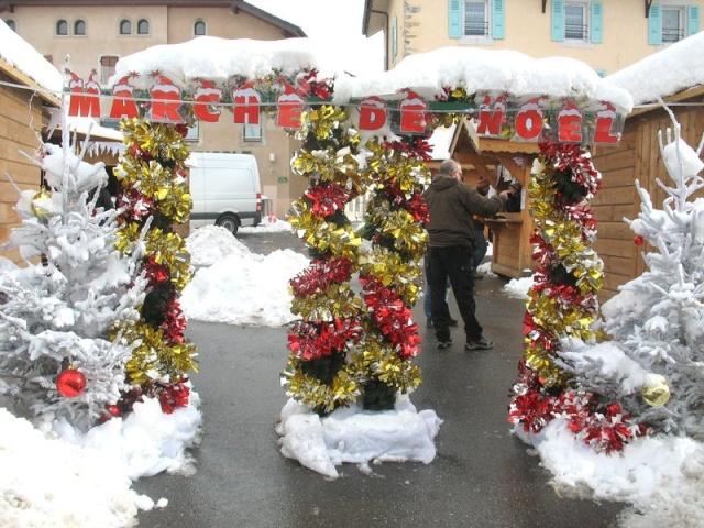 Marché de Noêl à Viuz en Sallaz ( 74250) 8 et 9 Dec 2012 Marche10