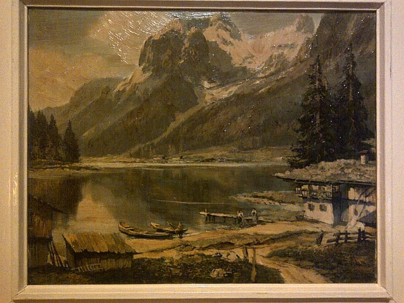 Is this a period painting or print? signed AINO KICH something Img-2129