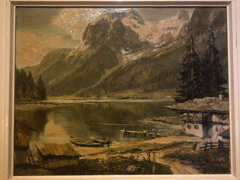 Is this a period painting or print? signed AINO KICH something Img-2130