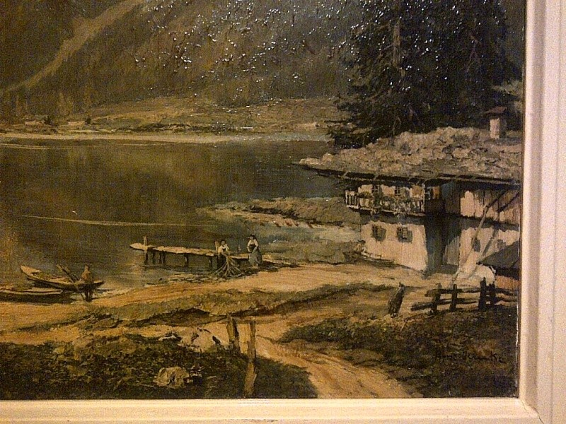 Is this a period painting or print? signed AINO KICH something Img-2131