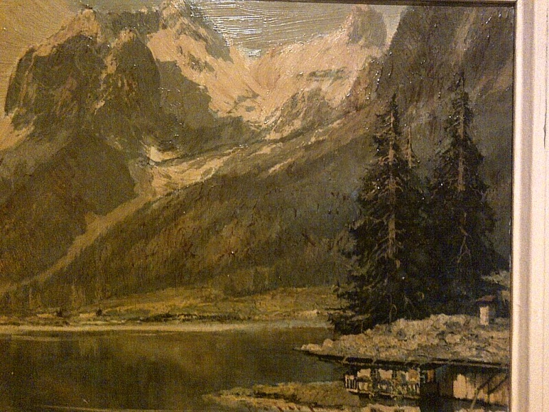 Is this a period painting or print? signed AINO KICH something Img-2132