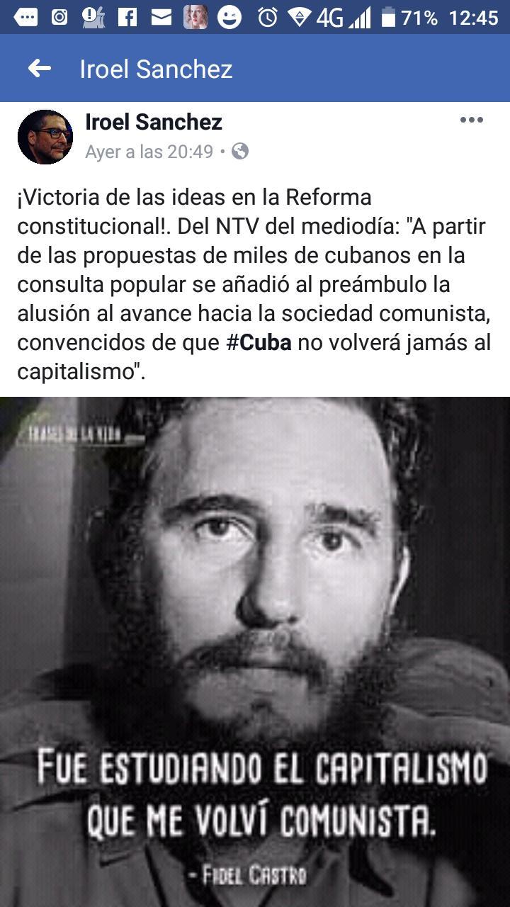 Cuba elimina el termino comunista. Thumbn10