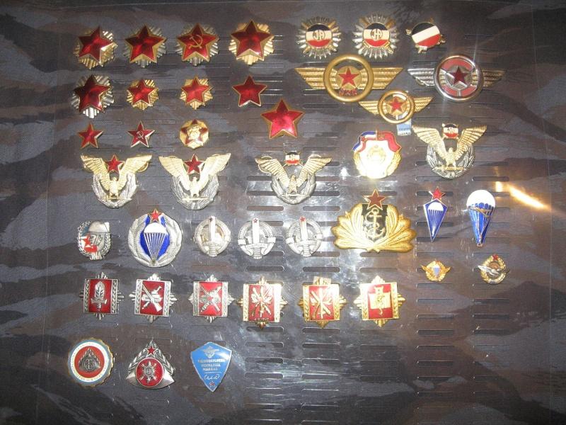 Emblems of the army and police JNA, Yugoslav, Serbian, VRS, VRSK Img_2421