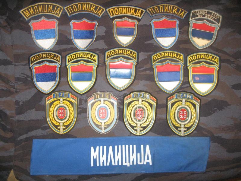 Emblems of the army and police JNA, Yugoslav, Serbian, VRS, VRSK Img_2423