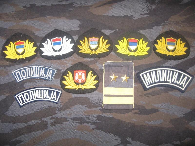 Emblems of the army and police JNA, Yugoslav, Serbian, VRS, VRSK Img_2424