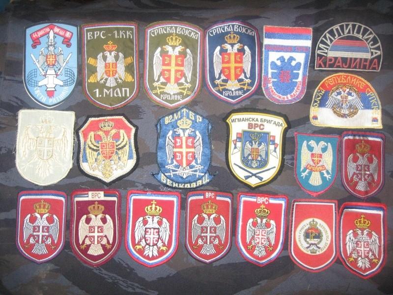 Emblems of the army and police JNA, Yugoslav, Serbian, VRS, VRSK Img_2428