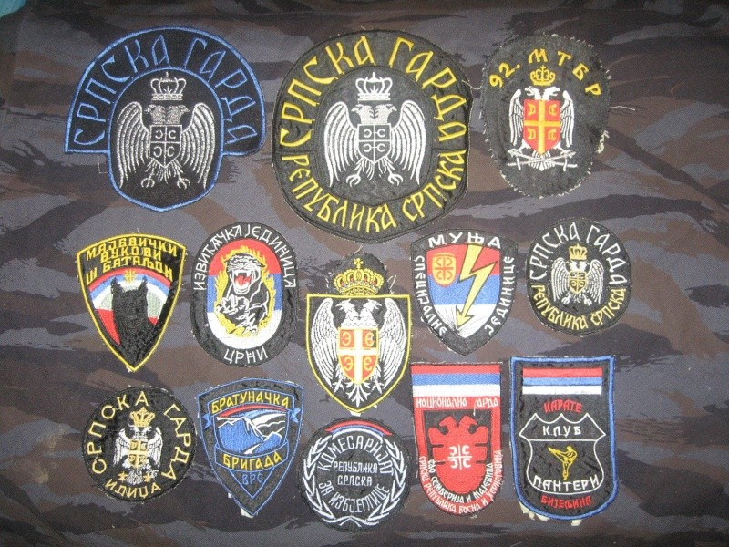 Emblems of the army and police JNA, Yugoslav, Serbian, VRS, VRSK Img_2429
