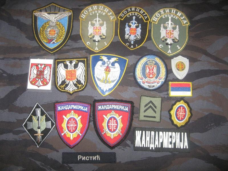 Emblems of the army and police JNA, Yugoslav, Serbian, VRS, VRSK Img_2430