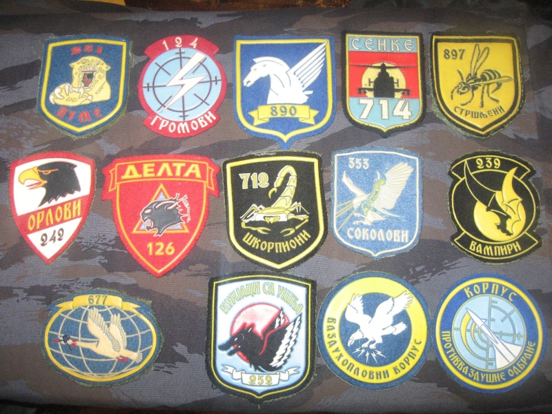 Emblems of the army and police JNA, Yugoslav, Serbian, VRS, VRSK Img_2432