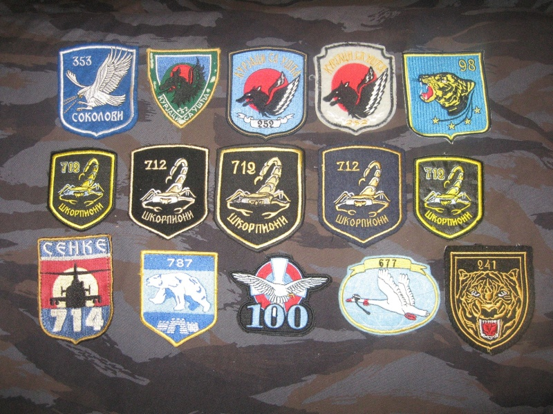 Emblems of the army and police JNA, Yugoslav, Serbian, VRS, VRSK Img_2433