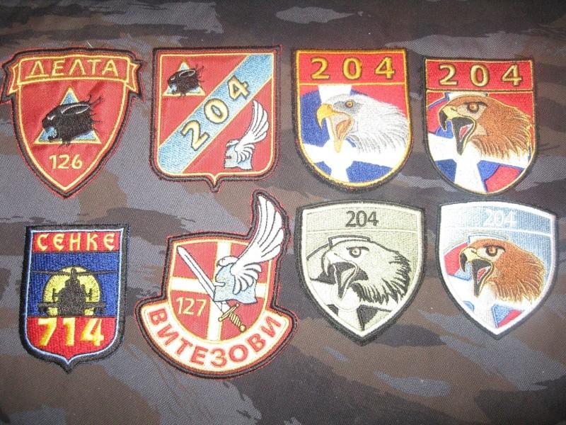 Emblems of the army and police JNA, Yugoslav, Serbian, VRS, VRSK Img_2434