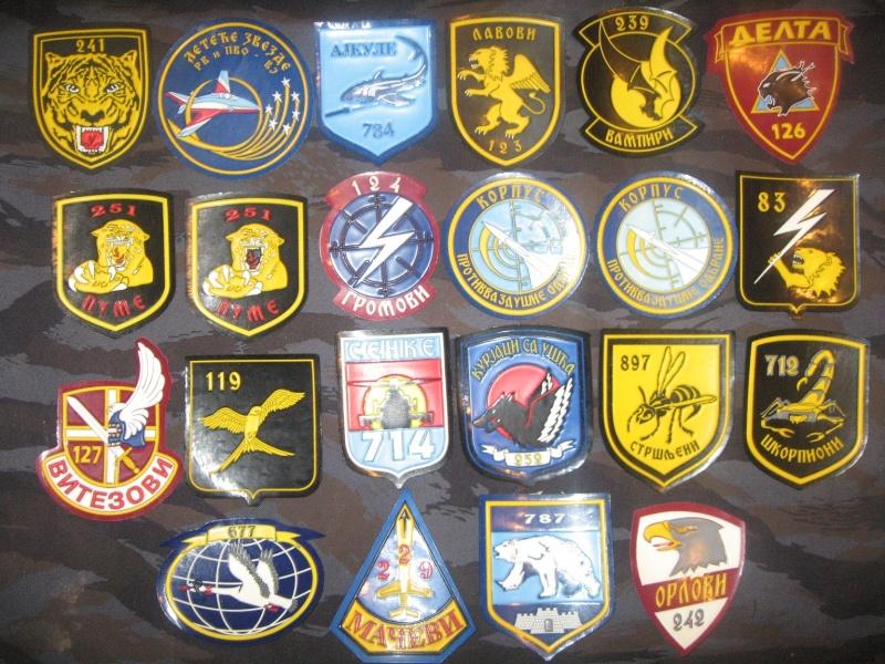 Emblems of the army and police JNA, Yugoslav, Serbian, VRS, VRSK Img_2435