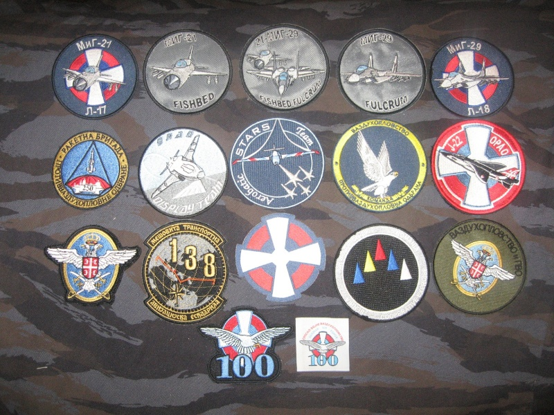 Emblems of the army and police JNA, Yugoslav, Serbian, VRS, VRSK Img_2437