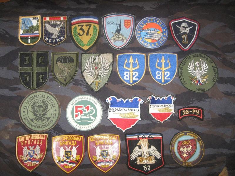 Emblems of the army and police JNA, Yugoslav, Serbian, VRS, VRSK Img_2438