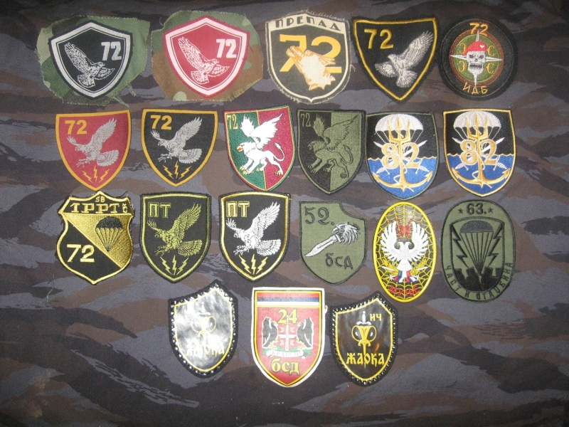 Emblems of the army and police JNA, Yugoslav, Serbian, VRS, VRSK Img_2439