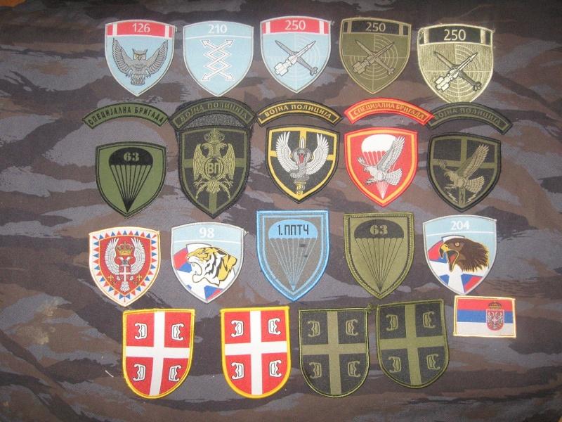 Emblems of the army and police JNA, Yugoslav, Serbian, VRS, VRSK Img_2440