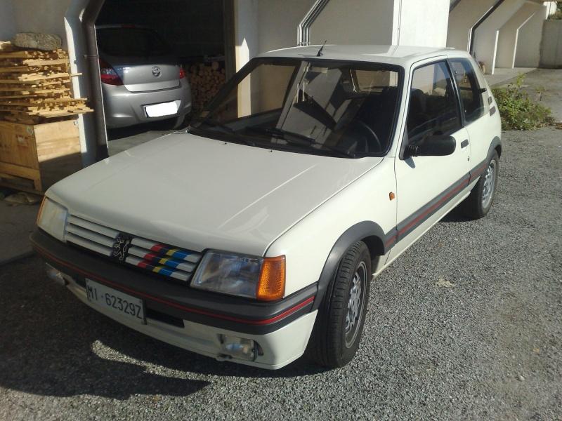 Peugeot 205 gti 1.6 '86 17112015