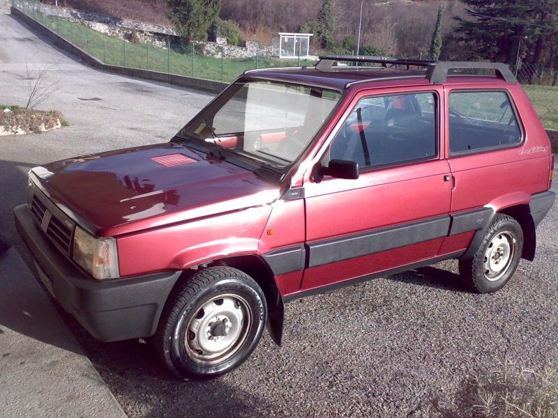 Fiat Panda 4x4 trekking 1992  Foto8910