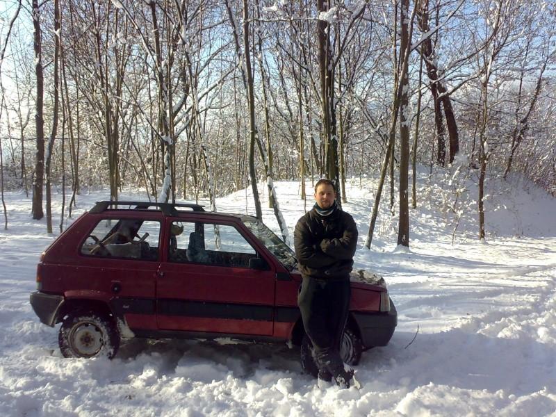Fiat Panda 4x4 trekking 1992  Io_str10