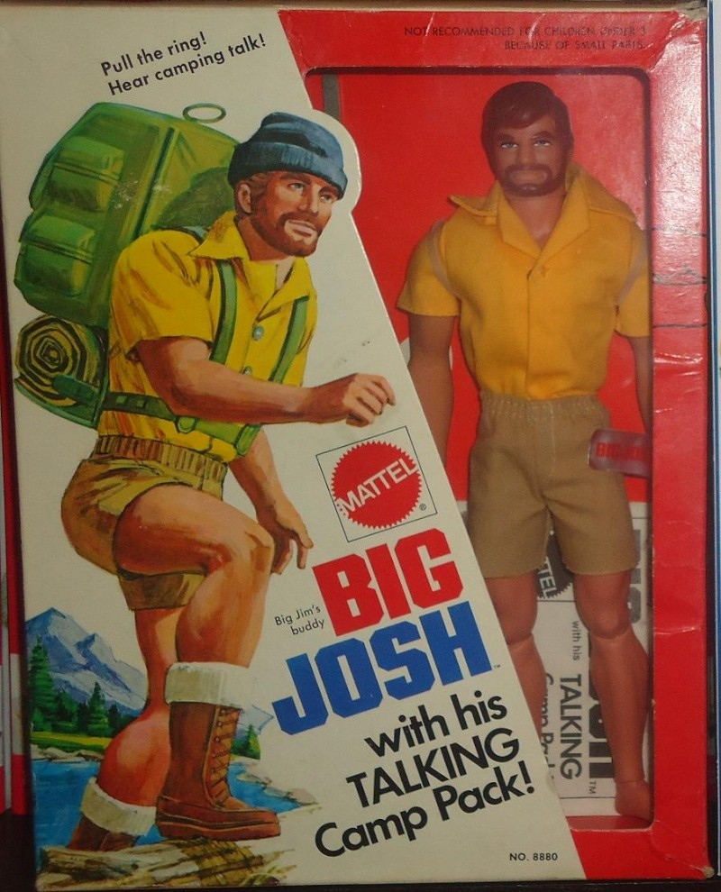 BIG JOSH with his TALKING Camp Pack! No. 8880 Fronte11