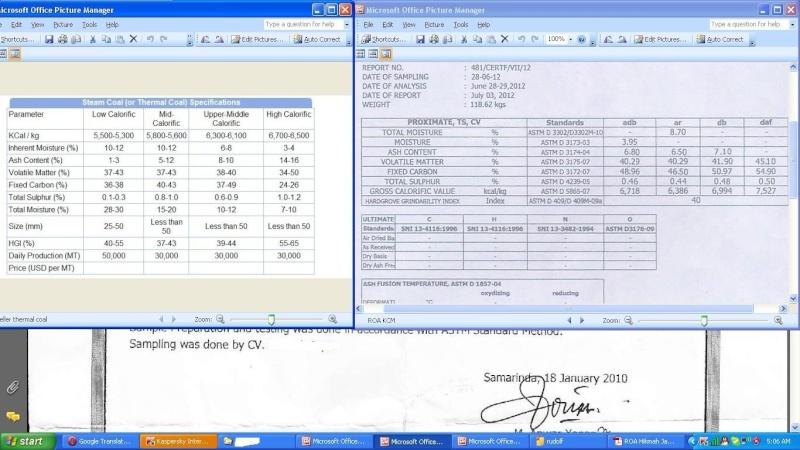 Offer Indonesia CIF  STEAM COAL in BULK  ASTM  D2234 / D2234 M-07 D2013 -07  B10