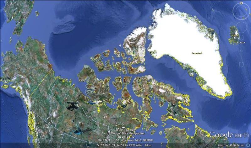 [Canada] - du Nord .... problème climatique Passag10