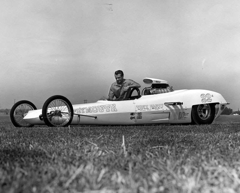 1950's & 1960's hot rod & dragster race 00051910