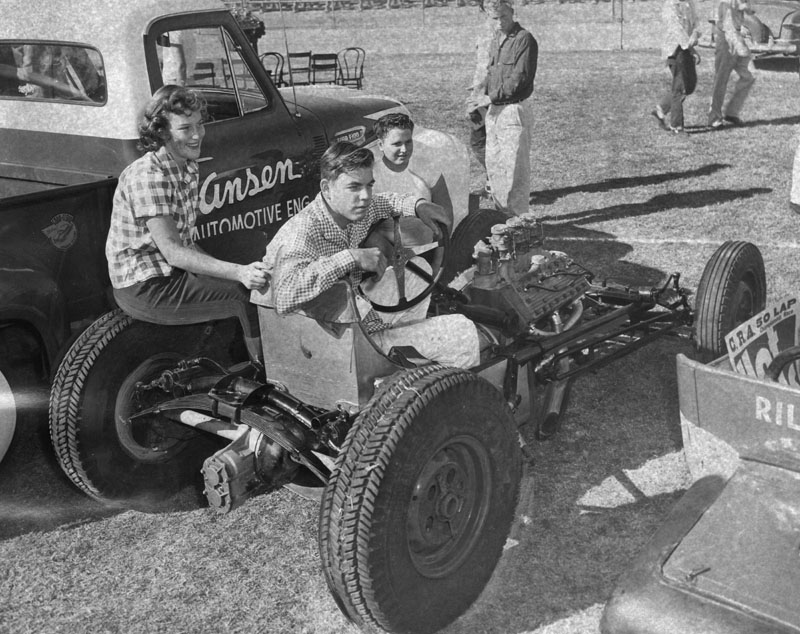 1950's & 1960's hot rod & dragster race 00071910