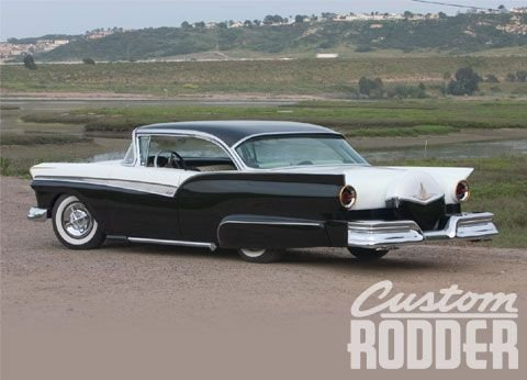 Ford 1957 & 1958 custom & mild custom  0607cr14