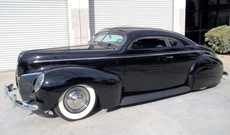 Ford & Mercury 1939 - 40 custom & mild custom 10004410