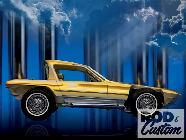Car Craft Dream Rod - Bill Cushenbery 1001rc14