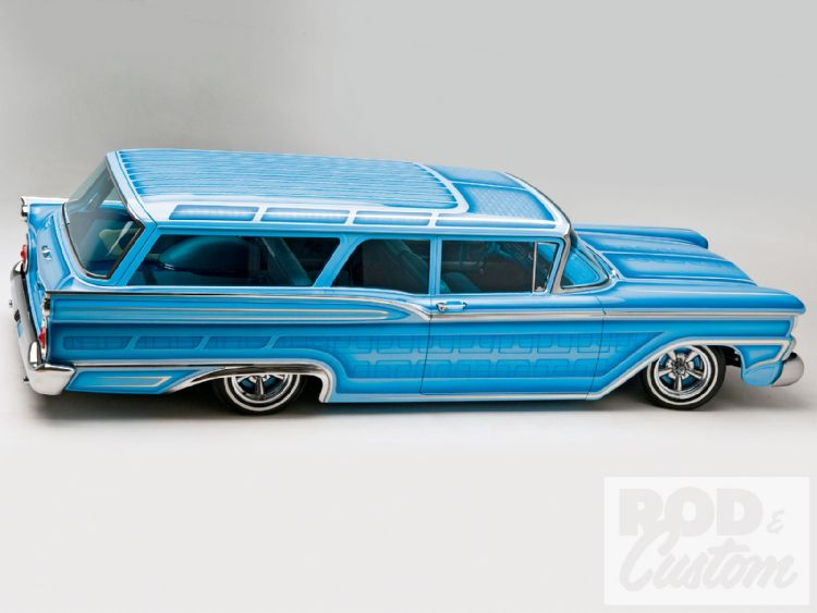 Ford 1959 custom & mild custom 1010rc16