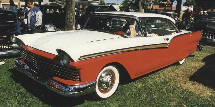 Ford 1957 & 1958 custom & mild custom  12-vi10