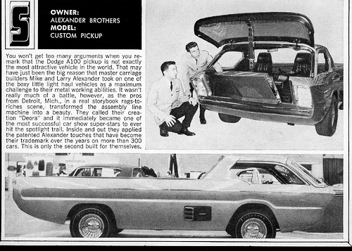 Deora - Dodge custom - Alexander Brothers 14494611