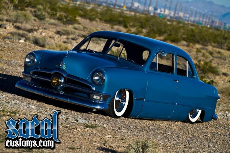 Ford 1949 - 50 - 51 (shoebox) custom & mild custom galerie 1512