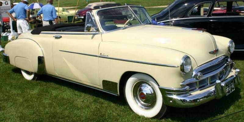 Les Chevrolet de 1949 à 1959 stock 1949-c10