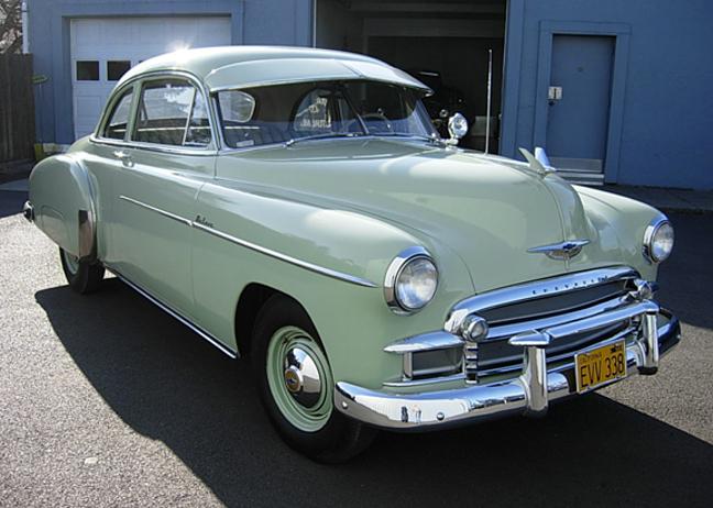 Les Chevrolet de 1949 à 1959 stock 19502010